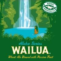 Kona Wailua Wheat Aloha Series label