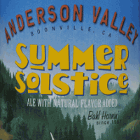 Anderson Valley Summer Solstice Cream Ale