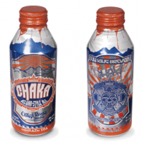 chaka aluminum pint bottle (oskar blues sun king)