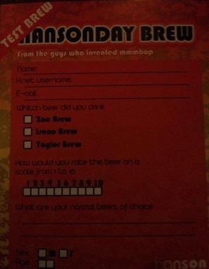 hanson mmhop test brew