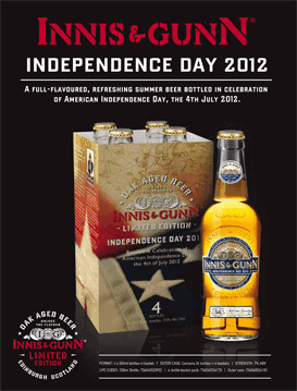 innis and gunn independence day beer