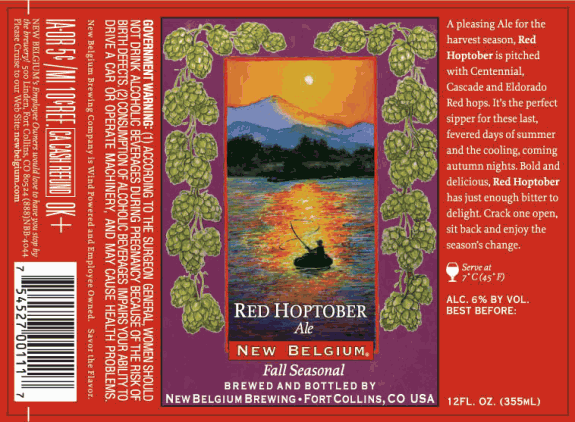 New Belgium Red Hoptober Ale