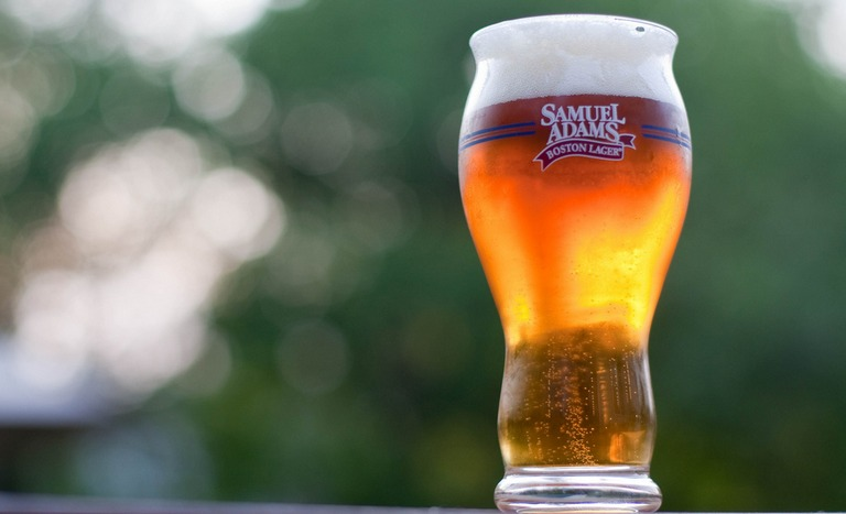 Samuel Adams glass