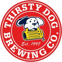 thirsty dog brewing logo