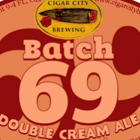 Cigar City Batch 69 Double Cream Ale
