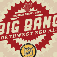 Lompoc Big Bang Bourbon Barrel-aged Northwest Red Ale