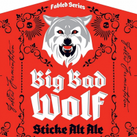 Grimm Brothers Big Bad Wolf Sticke Alt