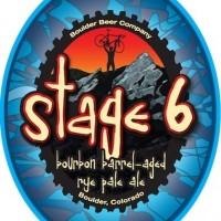 Boulder Stage 6 Bourbon Barrel-aged Rye Pale Ale