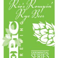 Epic Rio's Rompin' Rye Beer