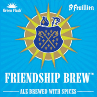 Friendship Brew 22 oz (Green Flash St. Feuillien)