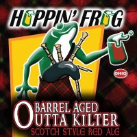 Hoppin' Frog Bourbon Barrel Aged Outta Kilter Scotch Red Ale
