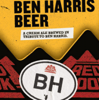 Redhook Ben Harris Beer label
