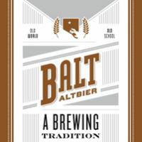 Union Balt Altbier can label