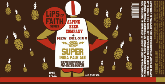 Super IPA (New Belgium Alpine Lips of Faith Series)