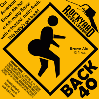 Rockyard Back 40 Brown Ale