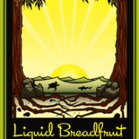 liquid breadfruit label (dogfish head and maui)