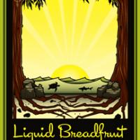 liquid breadfruit label (dogfish head and maui)