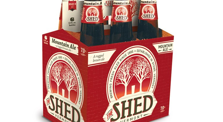 shed mountain rugged brown ale