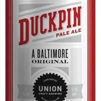 union duckpin pale ale label