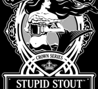 Coronado Stupid Stout label crop