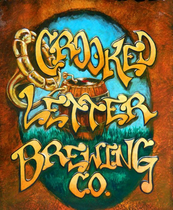 crooked letter brewing crooked letter brewing company signs initial distributor 21249 | Crooked Letter Brewing logo 2