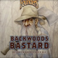 Founders Backwoods Bastard Bourbon Barrel-aged Scotch Ale