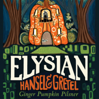 Elysian Hansel and Gretel Ginger Pumpkin Pilsner