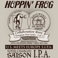 U.S. Meets Europe S.I.P.A. (Super-charged Saison IPA)