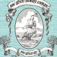 New Albion Ale label