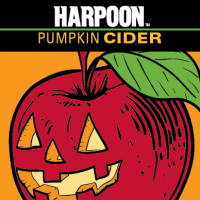 Harpoon Pumpkin Cider label