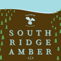 Crystal Springs South Ridge Amber Ale