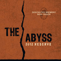 Deschutes The Abyss 2012 label