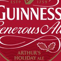 guinness generous ale label