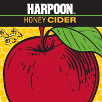 harpoon honey cider label