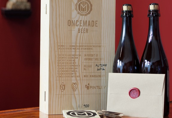 oncemade beer package