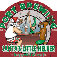 Port Bourbon Barrel-aged Santa's Little Helper Imperial Stout