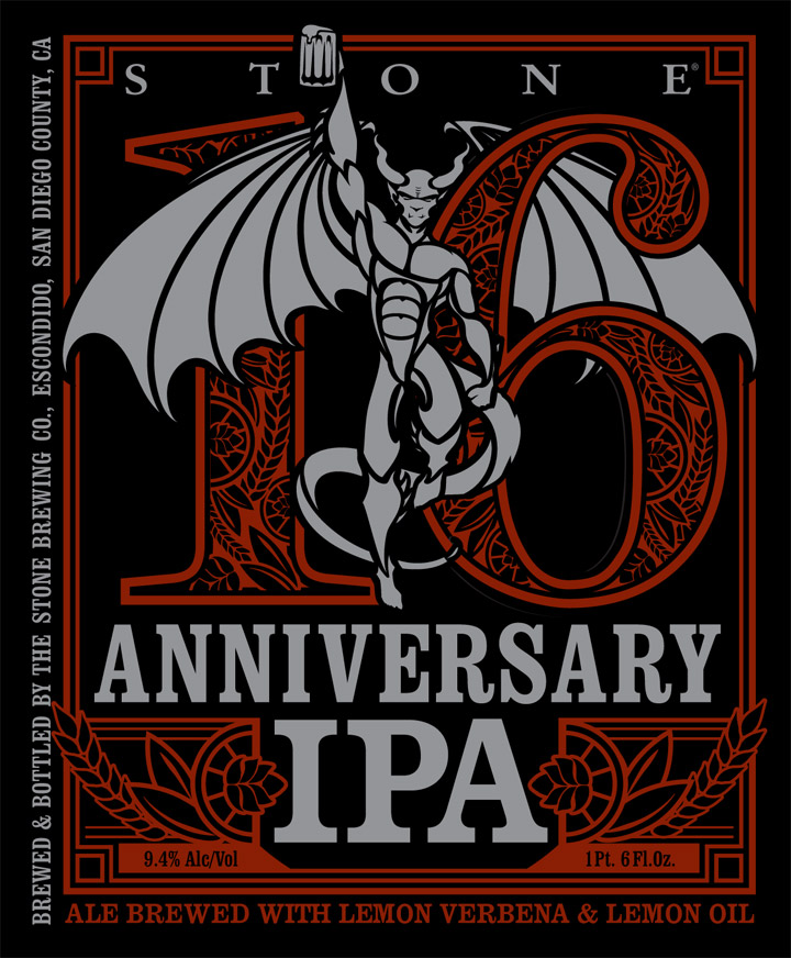 stone 16th anniversary double ipa