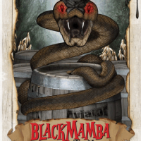 Aviator Black Mamba Bourbon Barrel-aged Oatmeal Stout