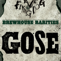 Flying Dog Gose label