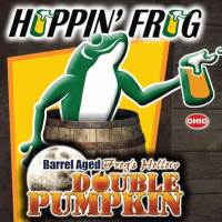 Hoppin' Frog Whiskey Barrel-aged Frog's Hollow Double Pumpkin Ale