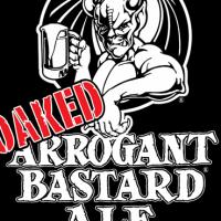 OAKED Arrogant Bastard Ale