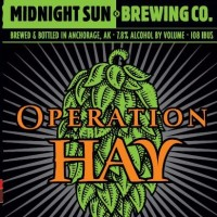 Midnight Sun Operation Hay Double IPA