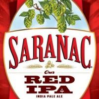 Saranac Red IPA label