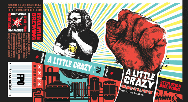 Revolution A Little Crazy Cans Are Back 4th Year Beer