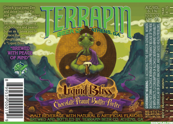 Peanut Butter Chocolate Beer Terrapin