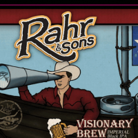 Rahr Visionary Brew Imperial Black IPA