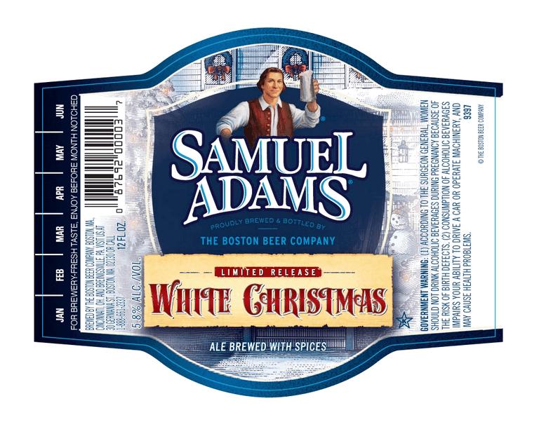 Sam Adams White Christmas.Samuel Adams White Christmas Ale Beerpulse