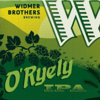 Widmer Brothers O Ryely IPA label