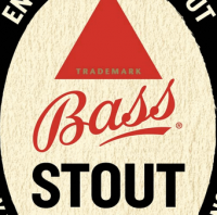 bass stout label