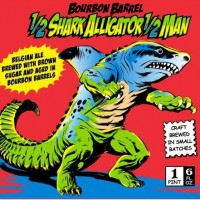 Jackie O's Half Shark Alligator Half Man Bourbon Barrel-aged Belgian Ale
